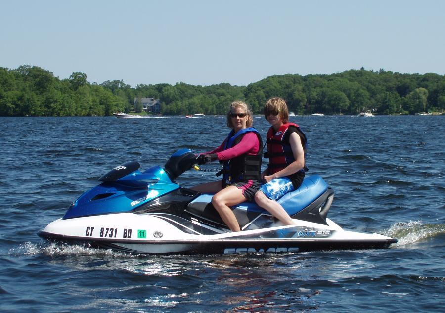 Sea Dooin' In Gardners Lake