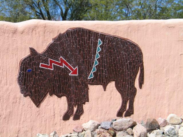 Tiled Buffalo
