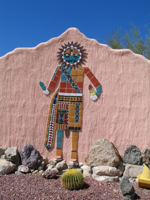 Tiled Sun Kachina