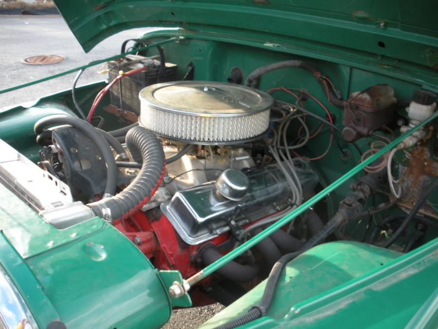 Chevy 283 V8 In A 1981 Cj5