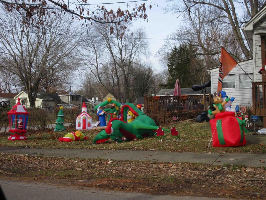 Cincinnati--Sayler Park--inflatables