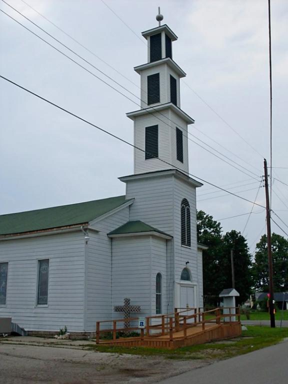 Butlerville--Baptist Church on US 50