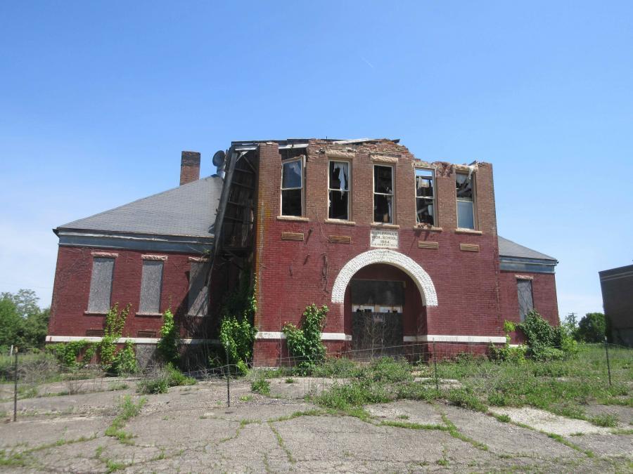 Indiana--Butlerville--High School