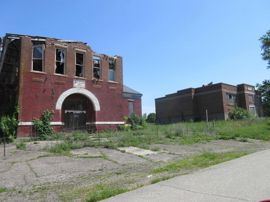 Indiana--Butlerville--High School And Grade School