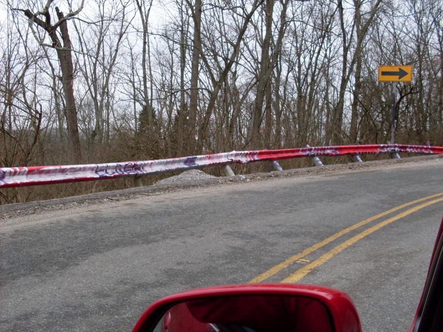 Green Township--Ebenezer Road--infamous curve