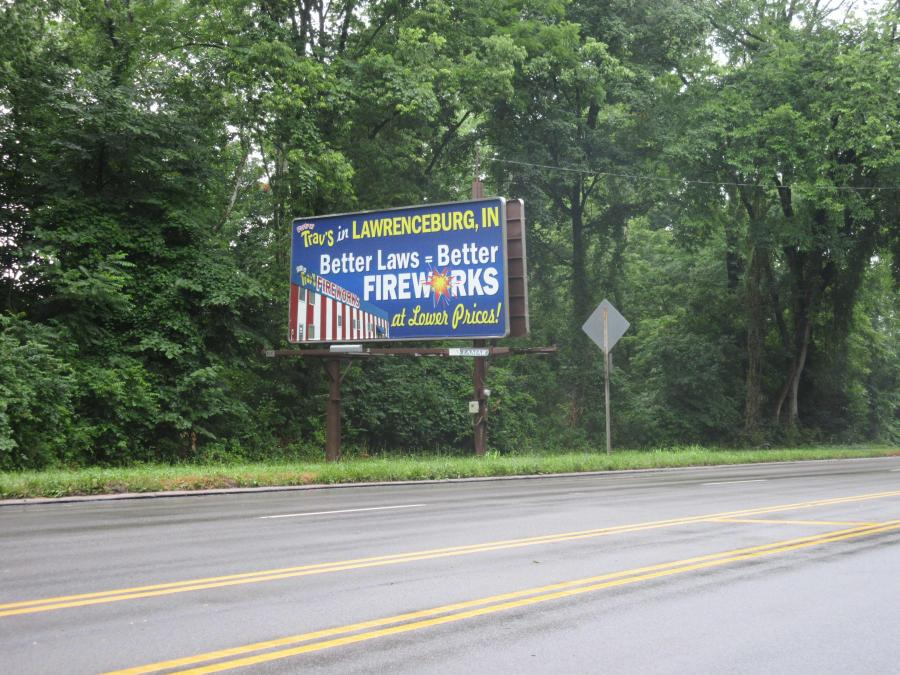 Cincinnati--Sayler Park--laws sign