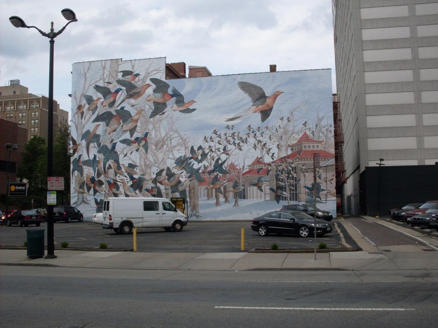 Cincinnati--mural--downtown
