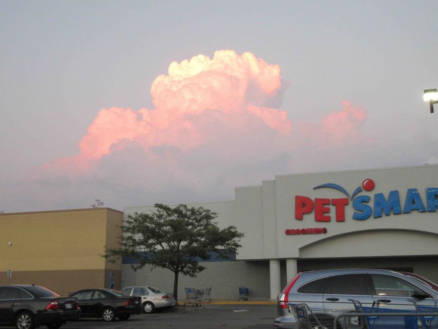 Cincinnati--Westwood--pink clouds