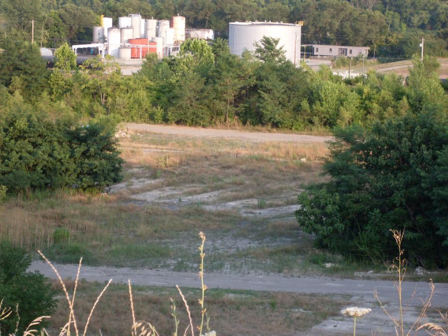 Cincinnati--Sedamsville--remains of railroad roundhouse