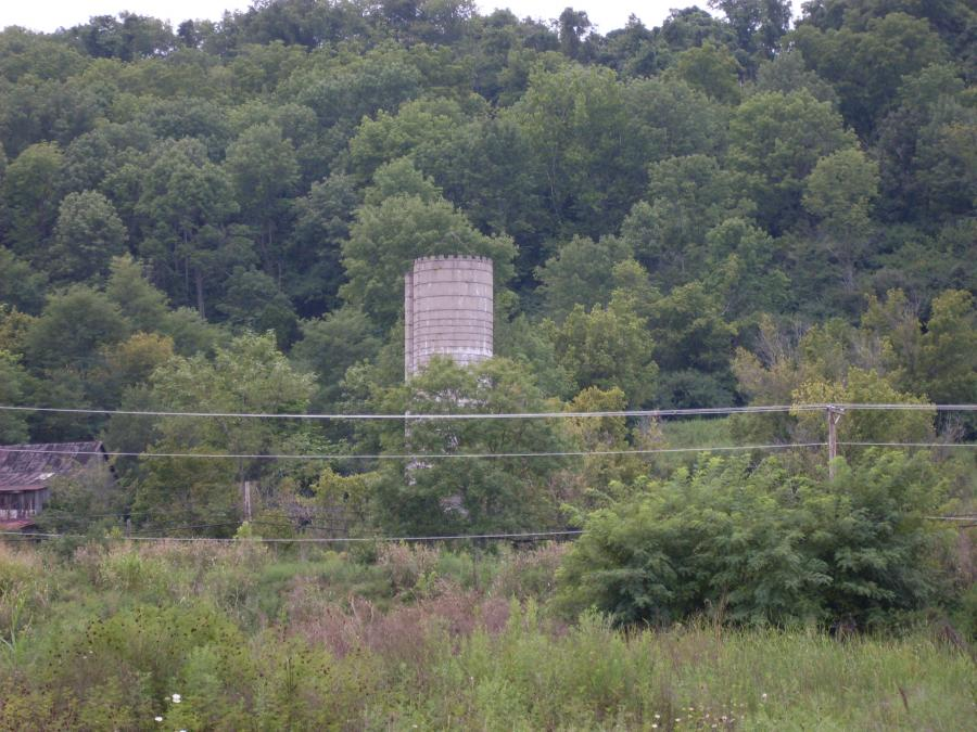 Indiana--Greendale--silo on Oberting Road