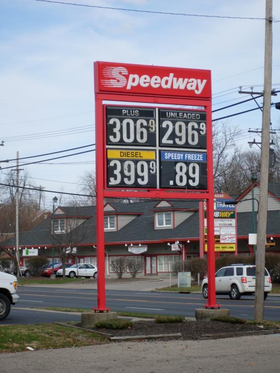 Cincinnati--Bridgetown--Speedway Gas