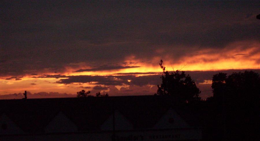 Cincinnati--Delhi Township--sunset