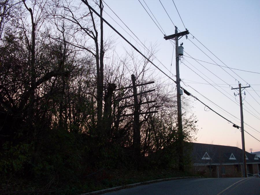 Cincinnati--Green Township--telegraph pole