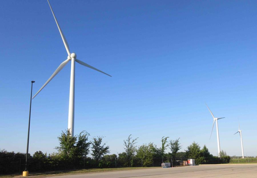 Greenville--wind turbines