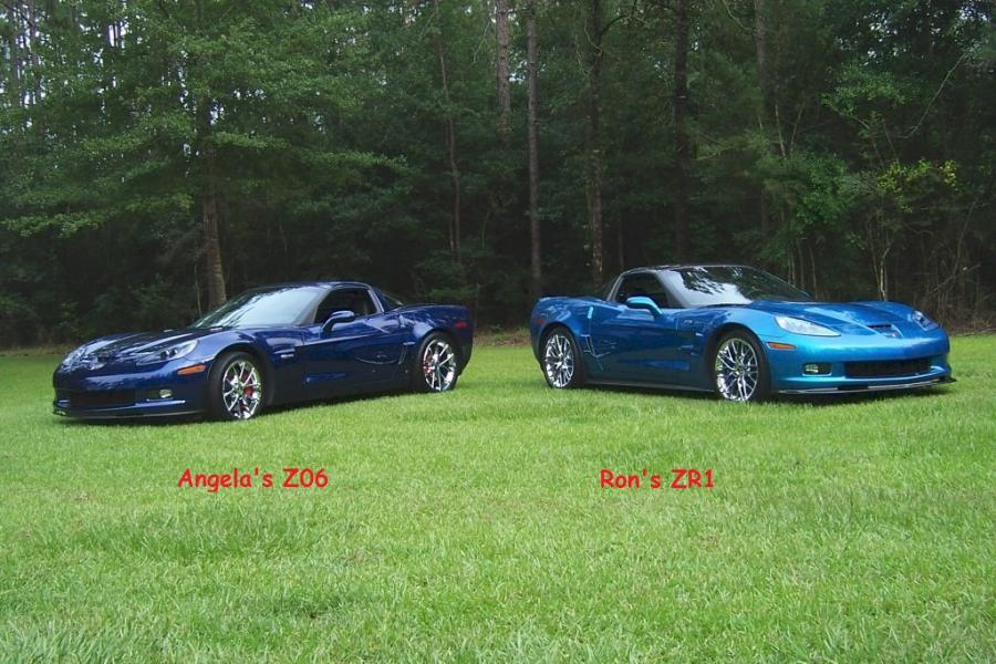"Angela""s Z06 And Rons Zr1"