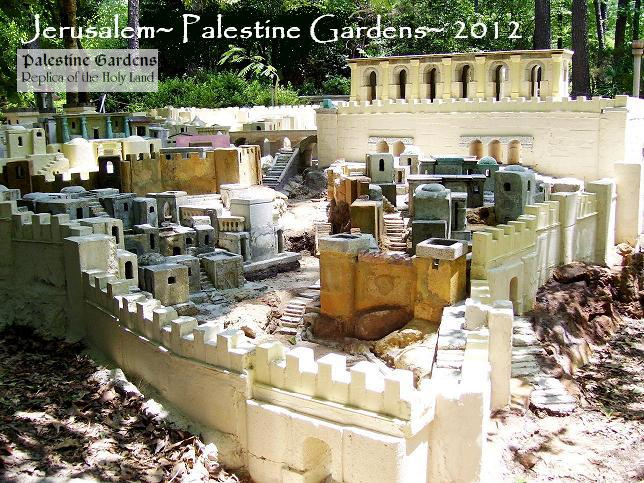 Palestine Gardens Jerusalem From The South